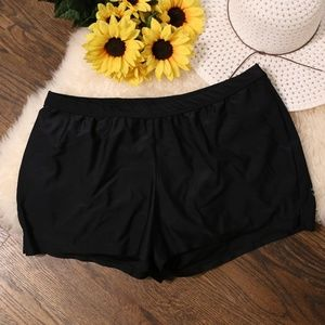 Liz Lange For Target Maternity Swim Shorts Black L